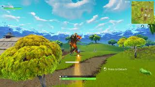 Fortnite self rocket ride glitch.