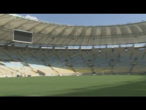 Maracana stadium nears completion in Brazil