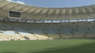Maracana stadium nears completion in Brazil