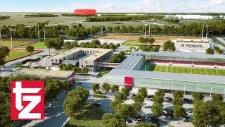 FC Bayern - Grundsteinlegung des neuen Sportgeländes: So wird es aussehen