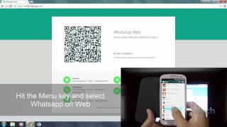 How to Use Whatsapp on Web and Scan QR Code Easily[2015][HD]