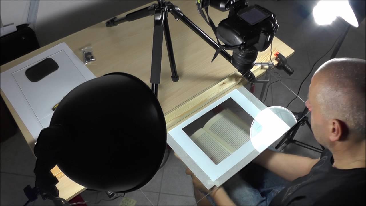 Diy Dslr Camera Based Book Scanner With Nikon D300 Scan Tailor