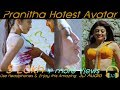 Pranitha Subhash Hot Avatar Special Edition use Headphones & Enjoy This Amazing 3D Sound
