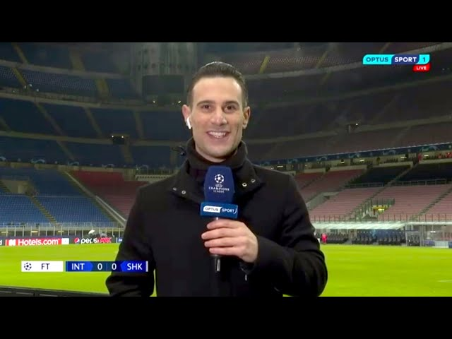 Optus Sport (UCL Pitchside: Inter-Shakhtar)