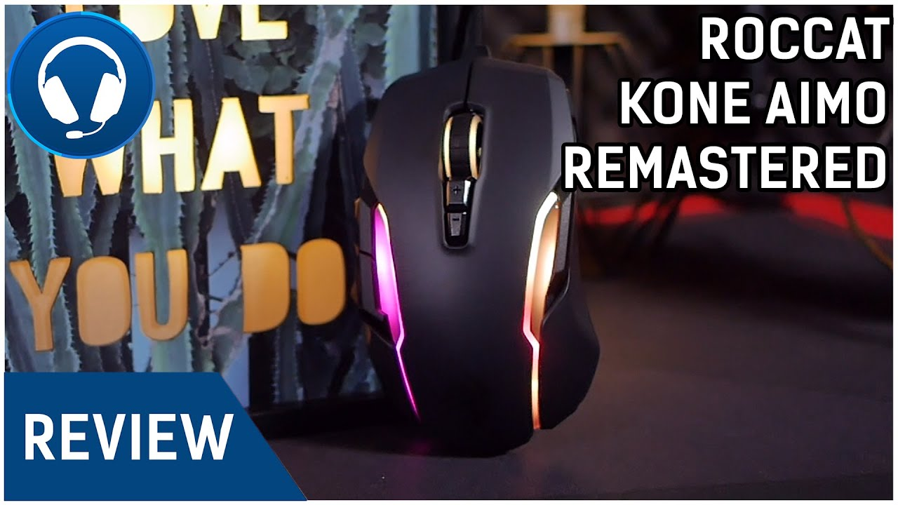 Download ROCCAT Kone AIMO Remastered REVIEW - TOP RGBA GAMING MAUS