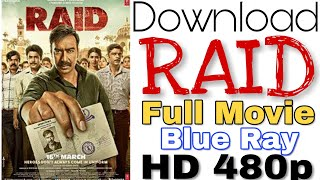 RAID | Full Movie | Hindi | Action | 480p | 300MB | BRrip