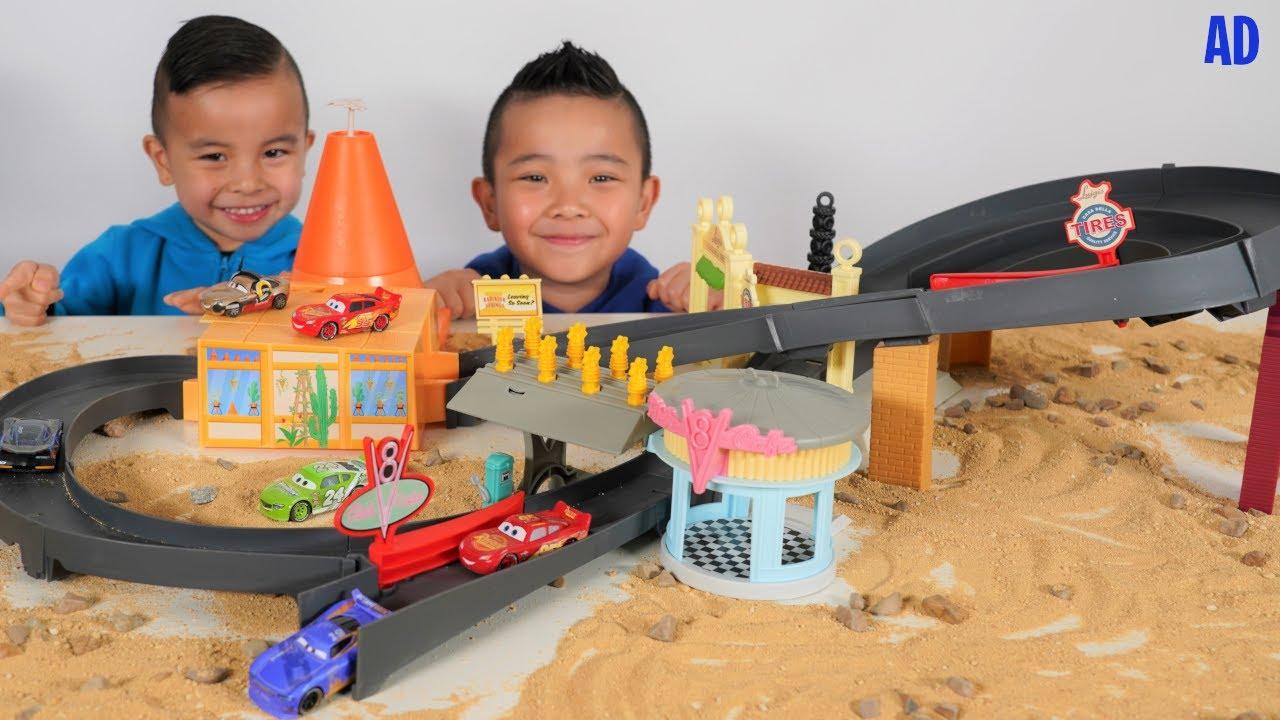 Disney Cars Race Around Radiator Springs Playset CKN Toys