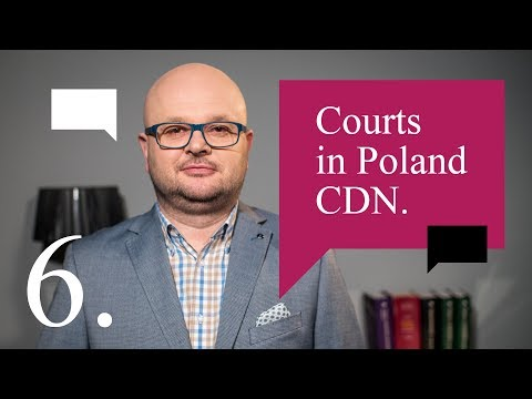 6. Courts in Poland cd - Legal English Centre