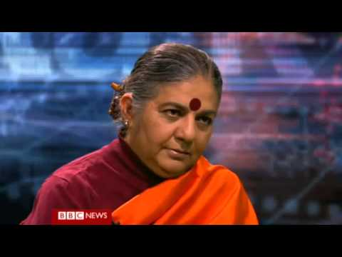 A Billion Go Hungry Because of GMO Farming: Vandana Shiva