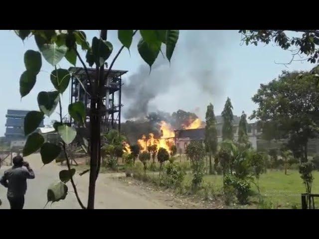 વાપી : જીઆઇડીસીમાં આવેલી કેમિકલ કંપનીમાં લાગી આગ, મેજર કોલ જાહેર