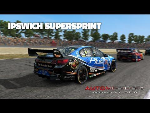Automobilista: Ipswitch Supersprint (V8 Supercar @ Queensland Raceway)