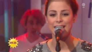 Lena Meyer-Landrut - STARDUST - LIVE im Sat.1 Frühstücksfernsehen