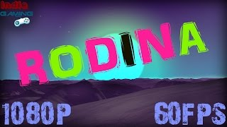 Rodina gameplay - Space Sim Exploration Indie Game Let