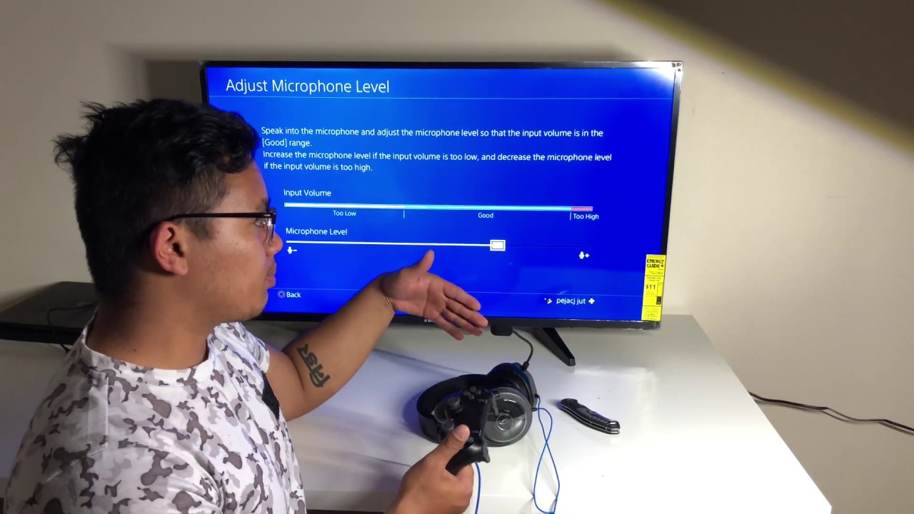 How To FIX PS4 Mic Not Working Problem - record voice in gameplay