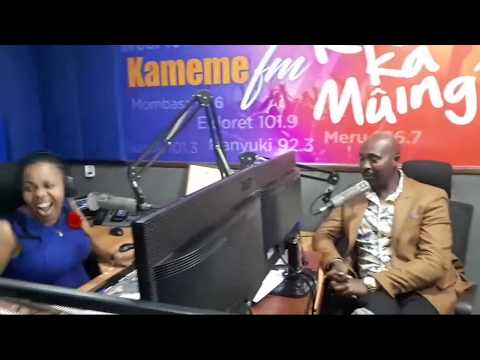 Man Nyary Is Back At Kameme Fm