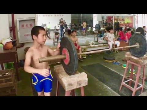 Chinese weightlifting training camp | Part 7