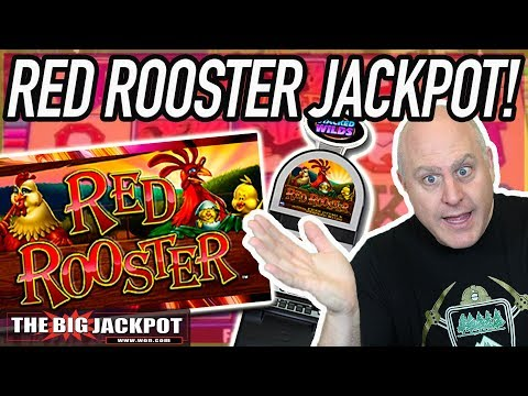$25 BET 🐓LINE HIT HANDPAY 💥Red Rooster Slots | The Big Jackpot