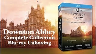 Downton Abbey Complete Collection Blu-ray Unboxing!