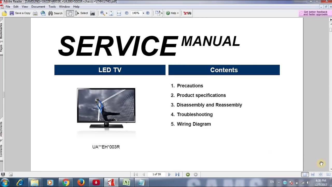 How To Free Download Service Manual Of Tv  Lcd  Led