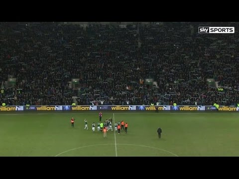 Amazing Sky Sports Video - Hibs Fans Sing Sunshine on Leith Vs Hearts Feb 2016