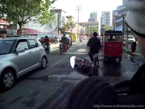 Riding around Linyi