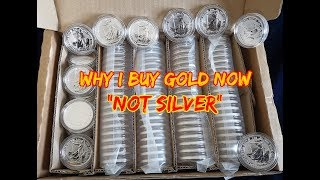 """Why I Buy Gold Now """"Not Silver"""""""