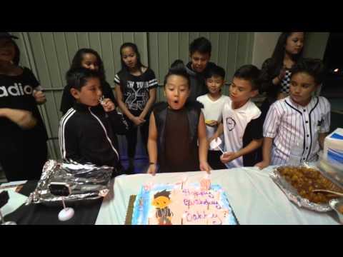 MY 9th BIRTHDAY PARTY   EXTENDED   Dawin - Dessert ft Silento #DessertDance