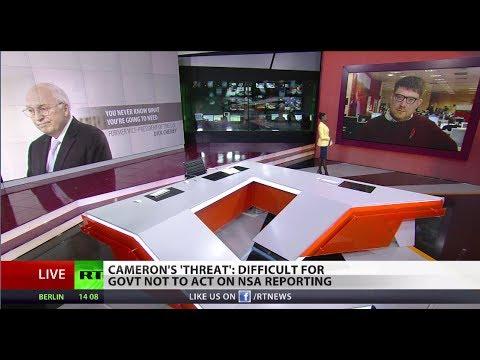 'Cameron declared war on media over NSA leaks'