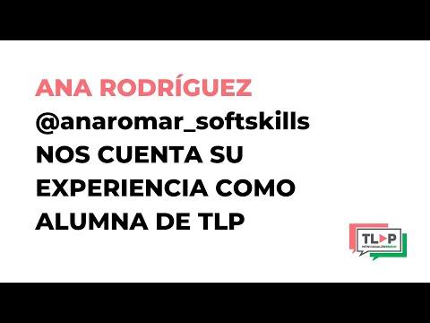 La clave para llegar a la excelencia hablando en público está en Traspasa La Pantalla. Ana Rodríguez