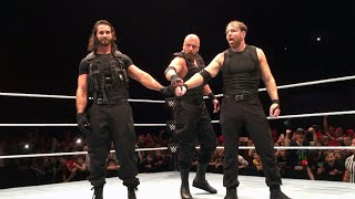 The Shield recruit Triple H at WWE Live Event in Glasgow: Exclusive, Nov. 1, 2017