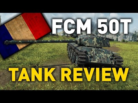 World of Tanks || FCM 50 t - Tank Review