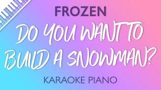 Gambar cover Frozen - Do You Want to Build a Snowman? (Karaoke Piano)