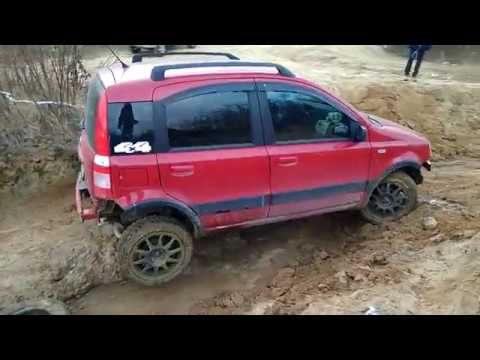 Fiat panda 4x4 with eld diagonal test youtube for Panda 4x4 youtube