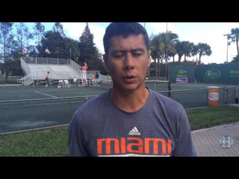 Orange Bowl International Tennis: A Chat With UM Coach Mario Rincon