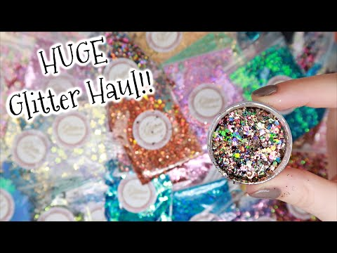 BIGGEST Glitter Haul Yet! | NEW Nail Art | Glitter Boutique