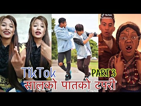 Salko Patko Tapari   सालको पातको टपरी   New Nepali TikTok Musically Videos   PART 3