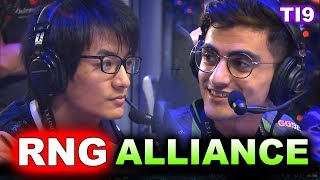 ALLIANCE vs RNG - TI9 ELIMINATION MATCH! - THE INTERNATIONAL 2019 DOTA 2