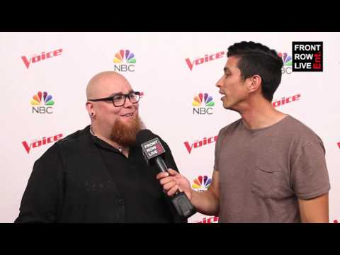 Jesse Larson on Performing With Adam Levine - The Voice Interview