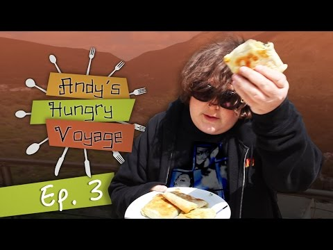 Andy Milonakis Makes Kalitsounia! | Andy's Hungry Voyage