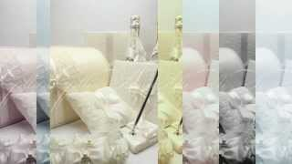 Свадебная ручка с подставкой Gilliann Lace Ivory Leaf PEN014
