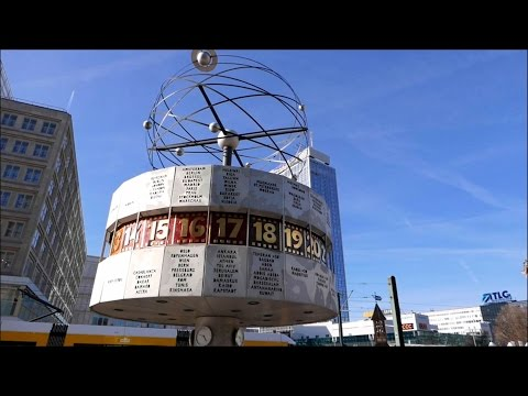 Berlin Street Food - Alexanderplatz - TV Tower - Berlin Trip