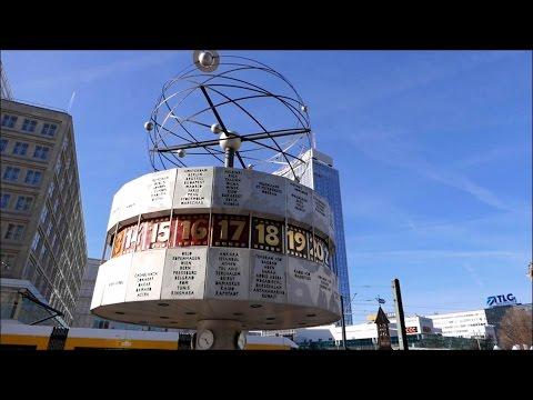 Berlin Street Food - Alexanderplatz - TV Tower - Berlin Trip
