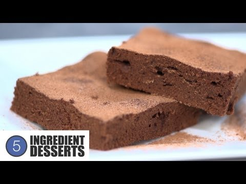 Easy Chocolate Brownies   5 Ingredient Desserts