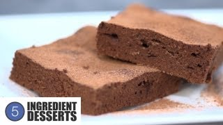 Easy Chocolate Brownies | 5 Ingredient Desserts