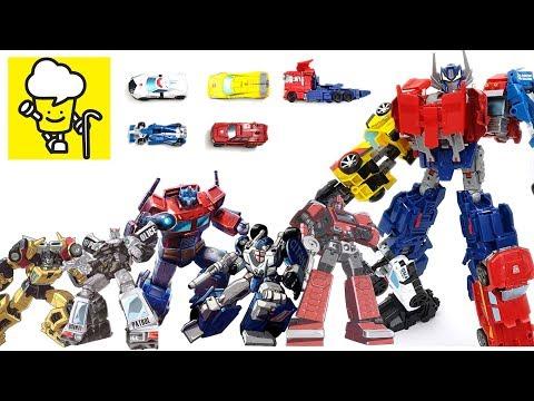 Optimus Maximus Transformers With Optimus Prime Prowl Ironhide Sunstreaker Mirage トランスフォーマー 變形金剛