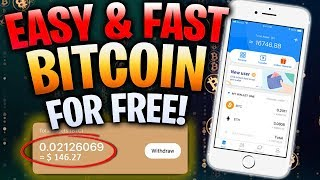 Earn EASY & FAST BITCOIN for FREE!!