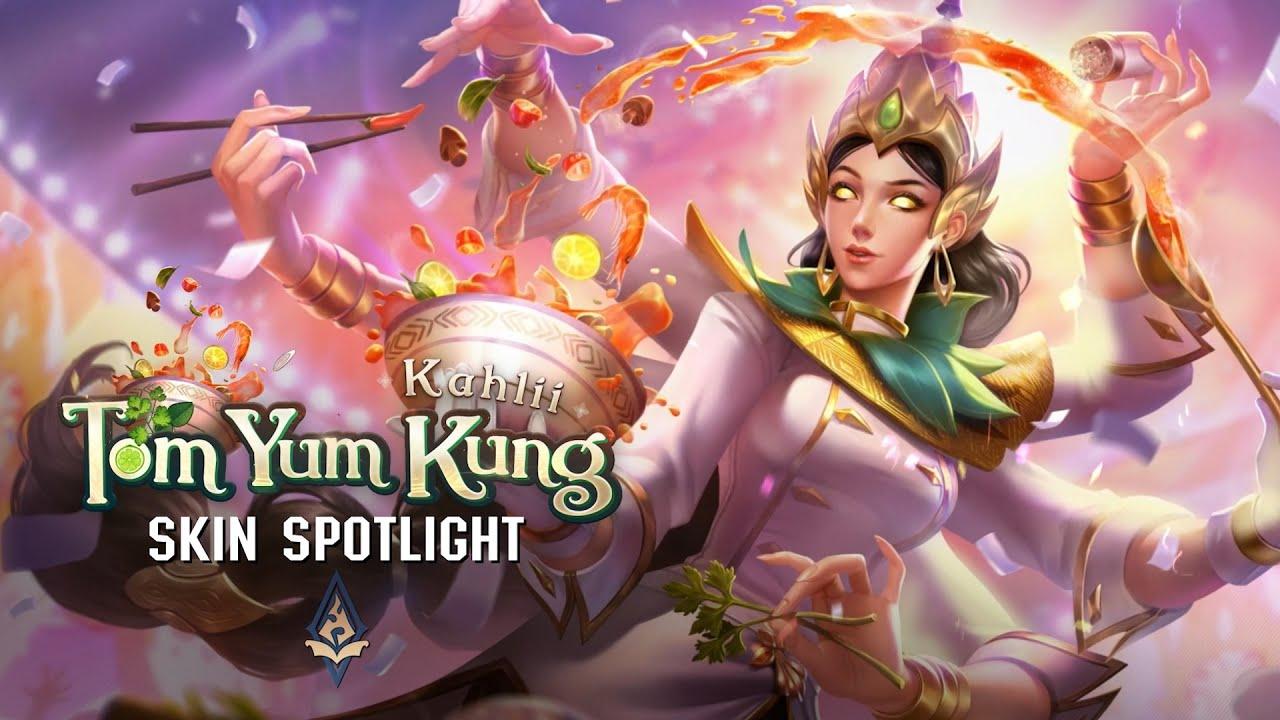SKIN Spotlight | Tom Yum Kung Kahlii - รับฟรีสกินใหม่ถาวร!!