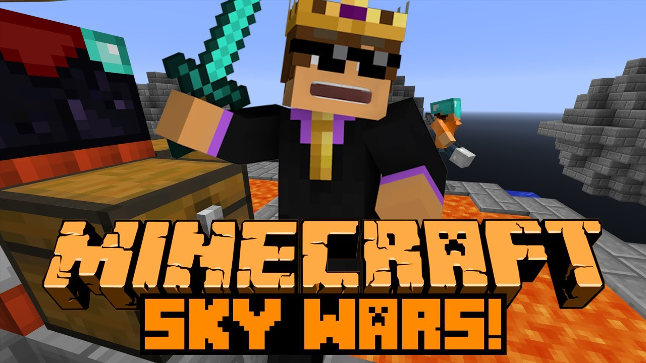 Minecraft: SKY WARS #2 - Feat. NoahCraftFTW! - YouTube