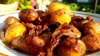 C такой картошкой и шашлык не нужен Самый простой и вкусный рецепт картофеля
