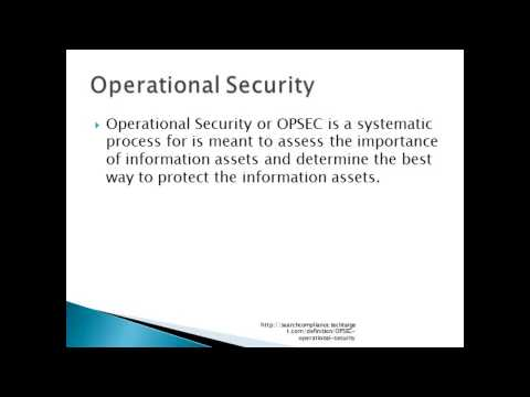 Compliance and Operational Security - YouTube